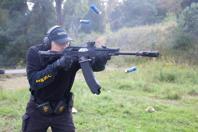 Спортивный карабин Молот Вепрь-12 IPSC special Edition