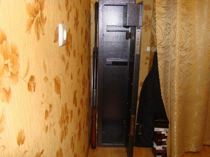 Требования к размещению оружейного шкафа в квартире