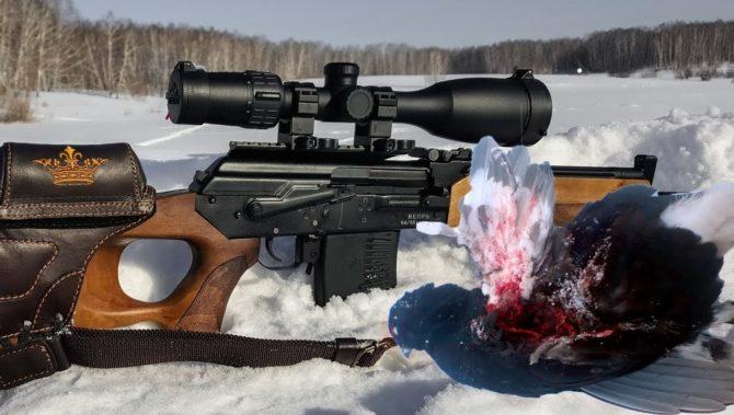 Гладкоствольное охотничье ружье Вепрь-1В