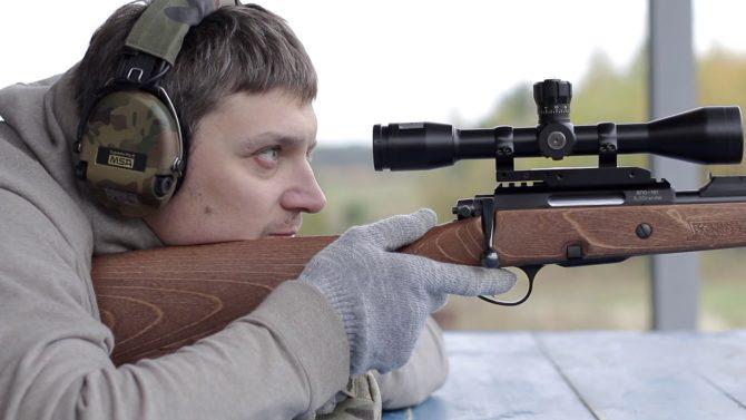 Карабин Горностай отличается высокой точностью стрельбы