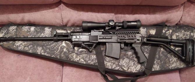Кофр для перевозки охотничьего ружья
