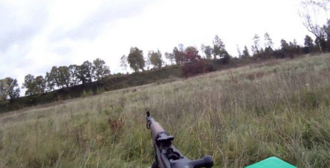 Охота на дичь с ВПО-208