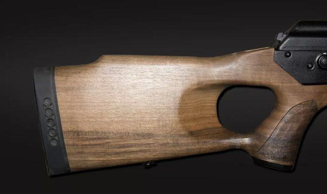 Приклад Вепрь-1В Ланкастер с амортизатором