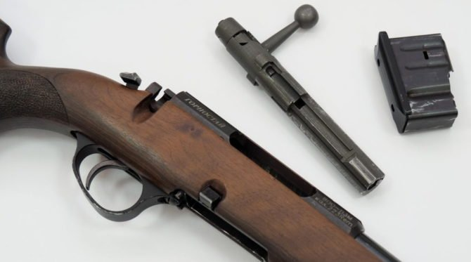 Ружье оснащено простым и надежным затвором