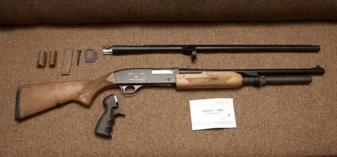 Ружьё охотничье Бекас-12М