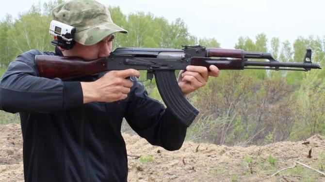 Стрельба из карабина Вепрь-КМ