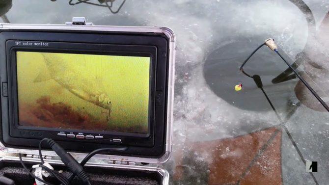 Благодаря камере рыболов может оценить перспективы подледного лова