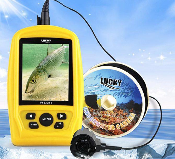 Дисплей подводной камеры Lucky ff3308-8