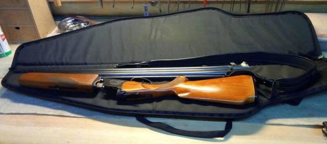 Двустволка Иж-27