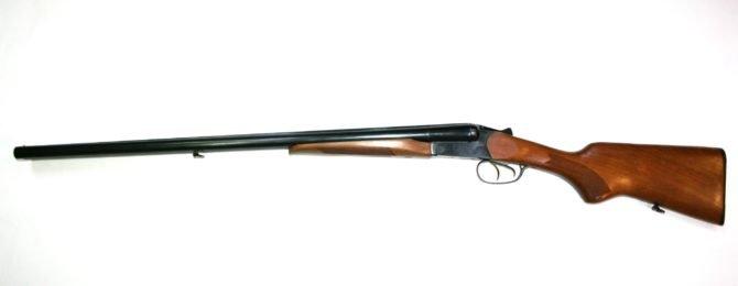 Двуствольное ружье МР-43 бук