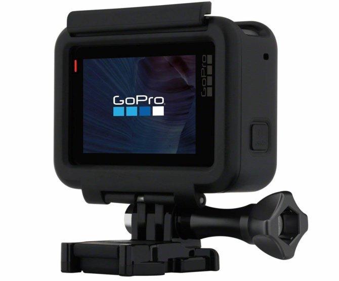 Экшн камера с сенсорным дисплеем