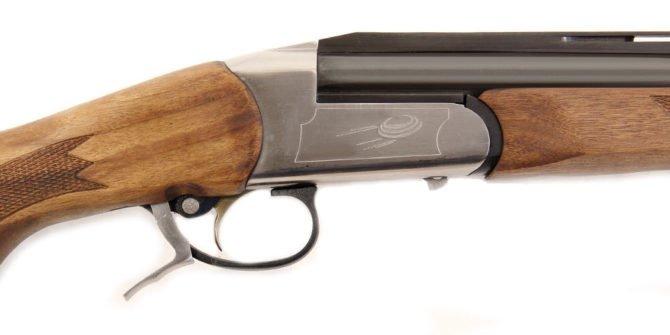 Гладкоствольное ружье MP-18EM-M Спортинг орех L-750