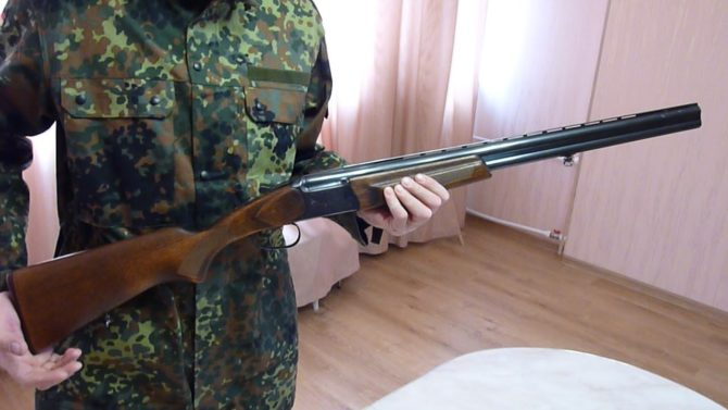 Гладкоствольное ружьё ИЖ-27 калибр 16х70