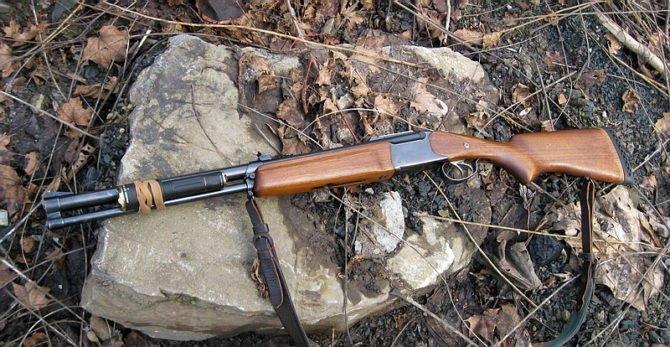 ИЖ-94 пользуется популярностью у охотников из-за простоты конструкции и небольшого веса