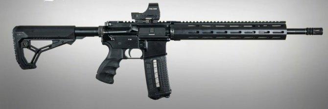 Карабин AR-15 из импортных комплектующих