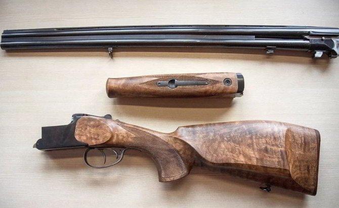 Классическое ружье иж-27