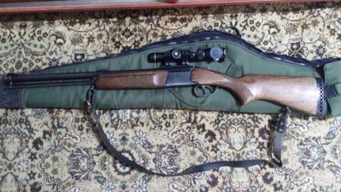Комбинированное ружье МР-94 Скаут с чехлом
