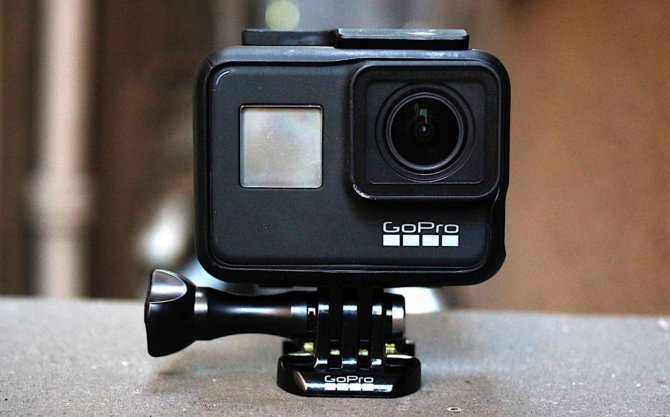 Компактная камера GOPRO hero7 Black