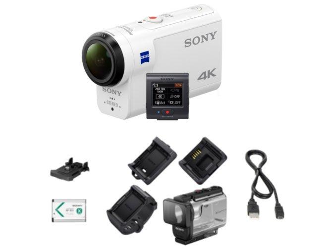 Комплектация Sony FDR X3000R
