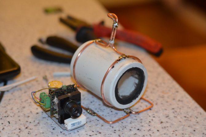 Корпус для подводной камеры