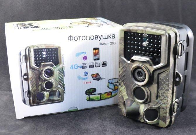 Лесная камера Филин 200 в упаковке