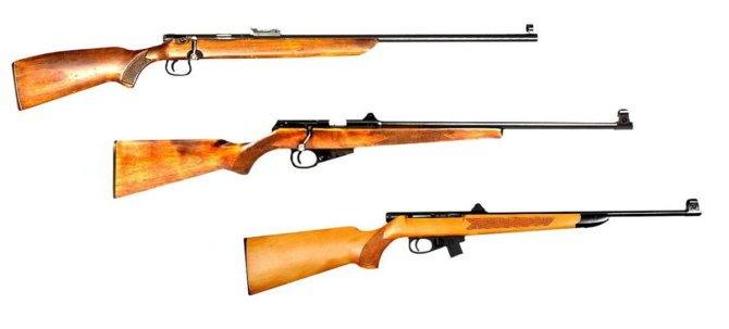 Мелкокалиберные винтовки ТОЗ