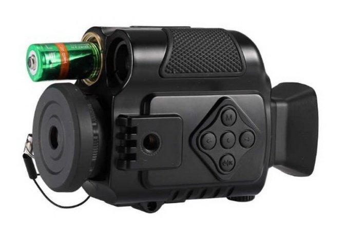 Мини видеокамера с ИК-подсветкой