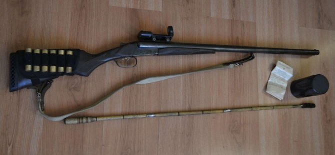 МР-43 с коллиматорным прицелом