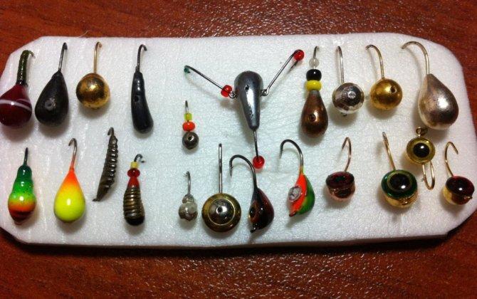 Набор мормышек для зимней рыбалки