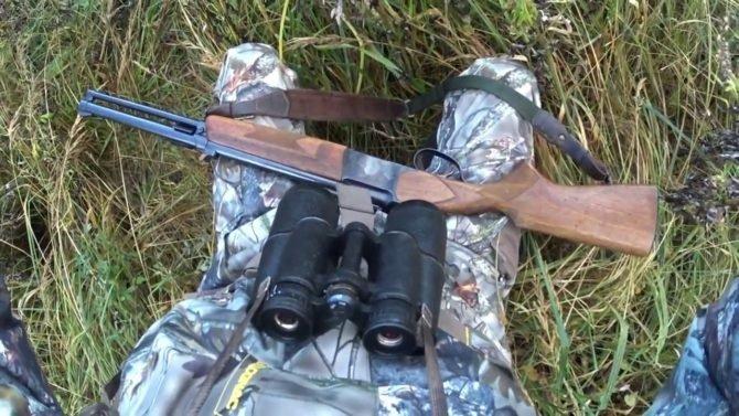 Охота с ИЖ-94 Тайга