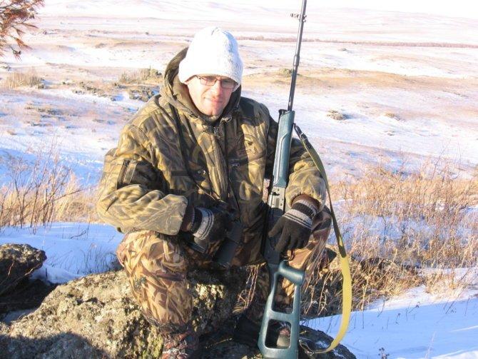 Охота с Сайгой 410