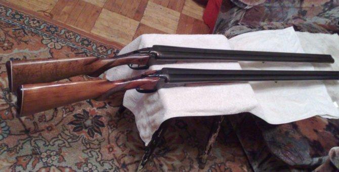 Охотничьи ружья ИЖ-26М