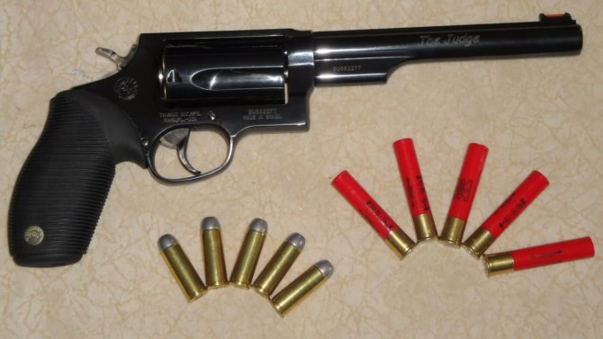 Охотничий револьвер под патрон .410 калибра