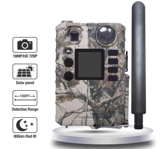 Охотничья камера с разрешением матрицы 18МП