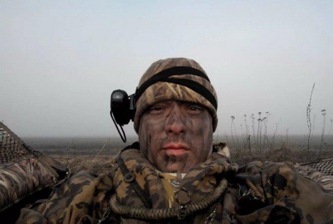 Охотник с видеокамерой