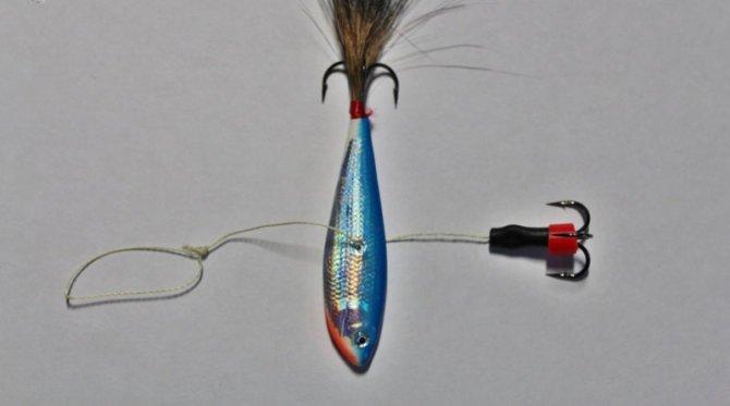 Оснастка бокоплава для зимней рыбалки