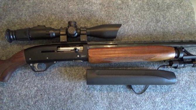 Полуавтоматическое ружье МР-153