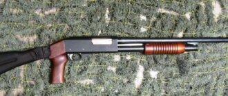 Помповое ружье иж-81