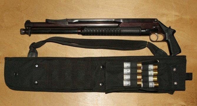 Помповое ружье Рысь-к РМ-96 производства АДАР