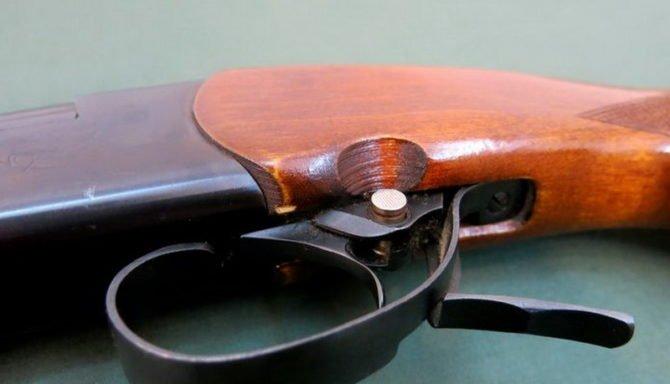 Предохранитель охотничьего ружья