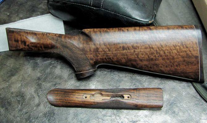 Приклад и цевье из ореха для ИЖ-54