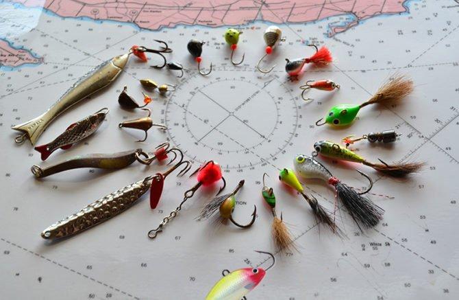 Приманки на окуня для зимней рыбалки