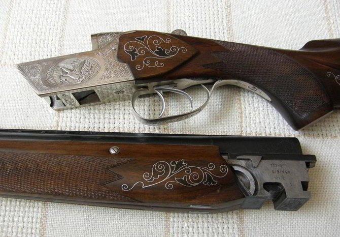 Ружье с гравировкой