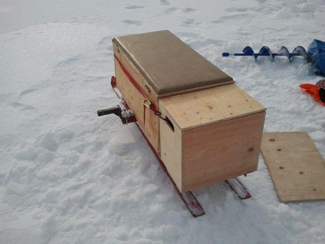самодельные для зимней рыбалки