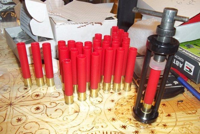 Самостоятельное снаряжение патронов .410 калибра