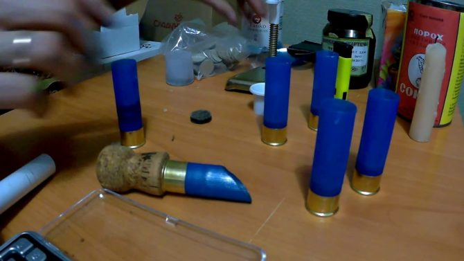 Снаряжение патронов 12 калибра