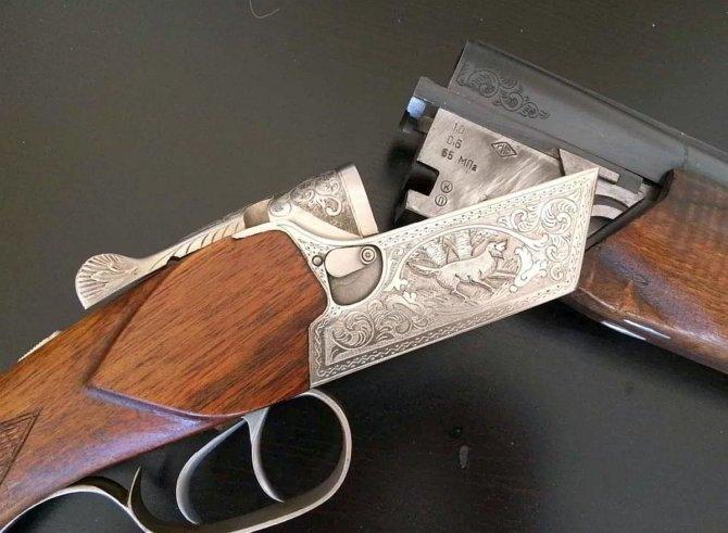 Спусковой механизм ружья