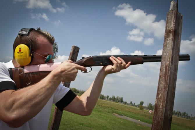 Стендовая стрельба 12 калибром