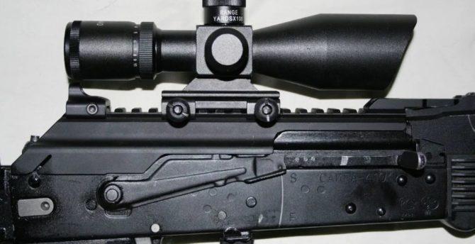 Установка оптического прицела на Сайгу-410