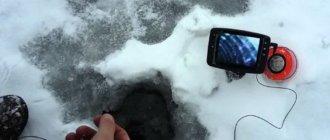 Видеокамера для подледного лова